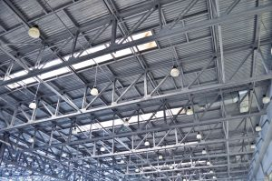 Industrial Ceiling Cleaning & High-Level Dusting