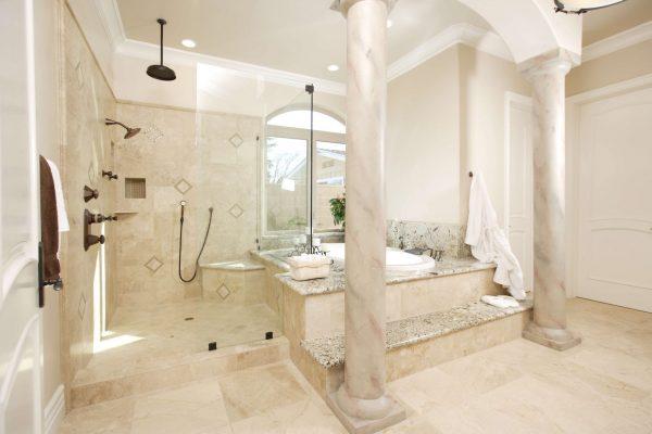 Bathroom tile restoration